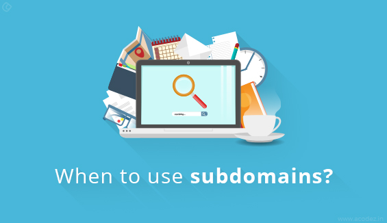 When to use subdomains, domains and subfolders