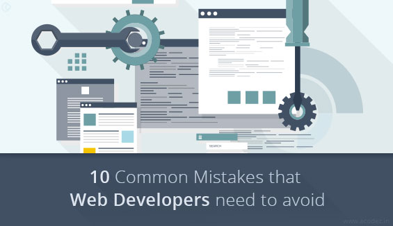 10 Common Web Development Mistakes That You Are Making And How To Avoid These