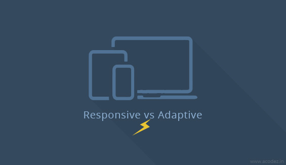 Difference: Responsive vs Adaptive