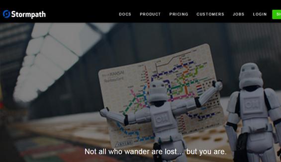 Stormpath - 404 error page