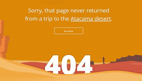 Tripomatic - 404 error page