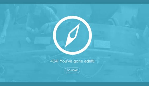 Underbelly - 404 error page