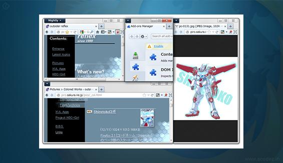 Tile Tabs and Fox Splitter - Firefox Addon for Software Testing