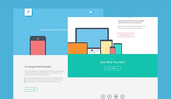 Flat-web-design