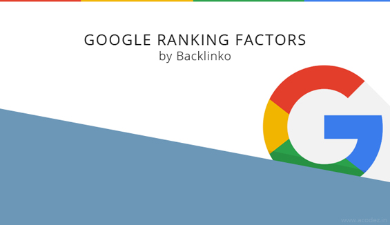 Google Ranking Factors - 2016 by Backlinko