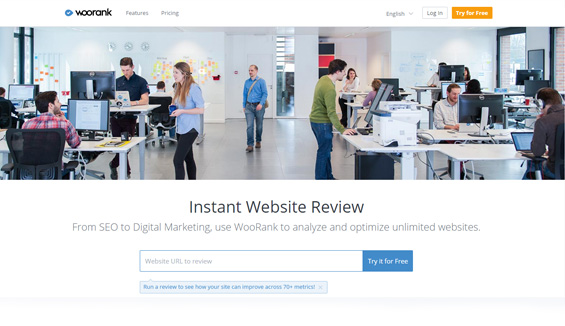 SEO & Website Analysis by WooRank