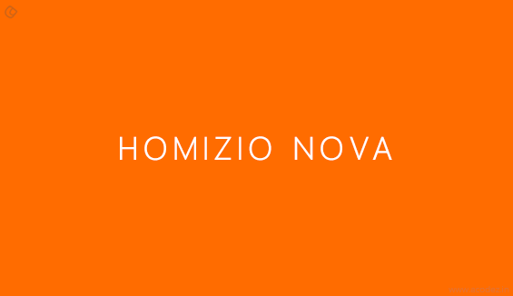 Homizio Nova - Free Fonts for Professional Web Design