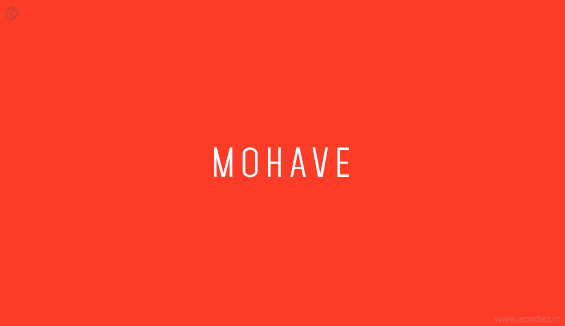 Mohave - Free Fonts for Professional Web Design