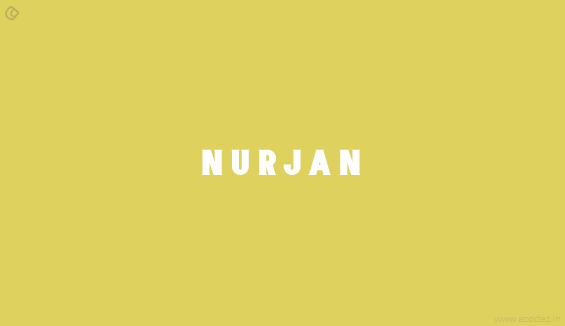 Nurjan - Free Fonts for Professional Web Design