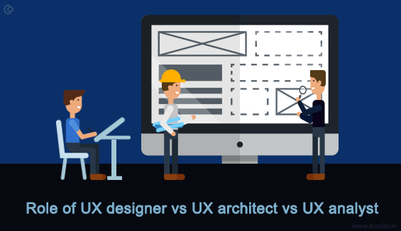 Role of UX designer vs UX architect vs UX analyst