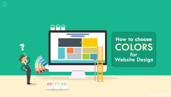 How to choose colors for website design
