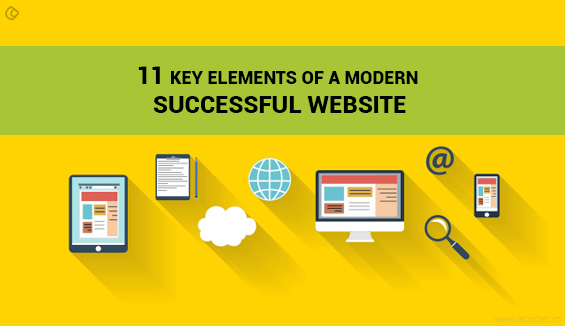 11 Key Elements of a Modern Successful Website