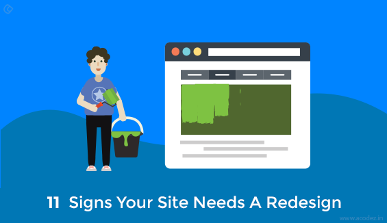 11 Signs Your Site Needs A Redesign
