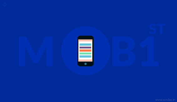 Mobile first themes