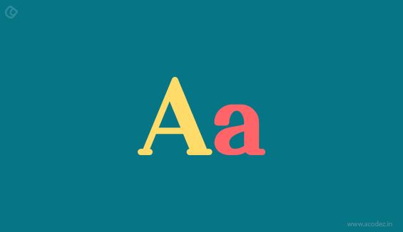 Pick textual styles