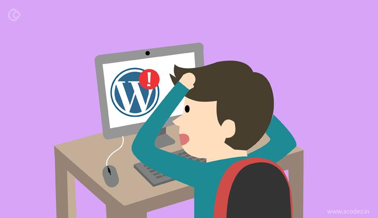 common WordPress errors and solutions