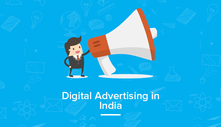 digital advertising in india - Infographic