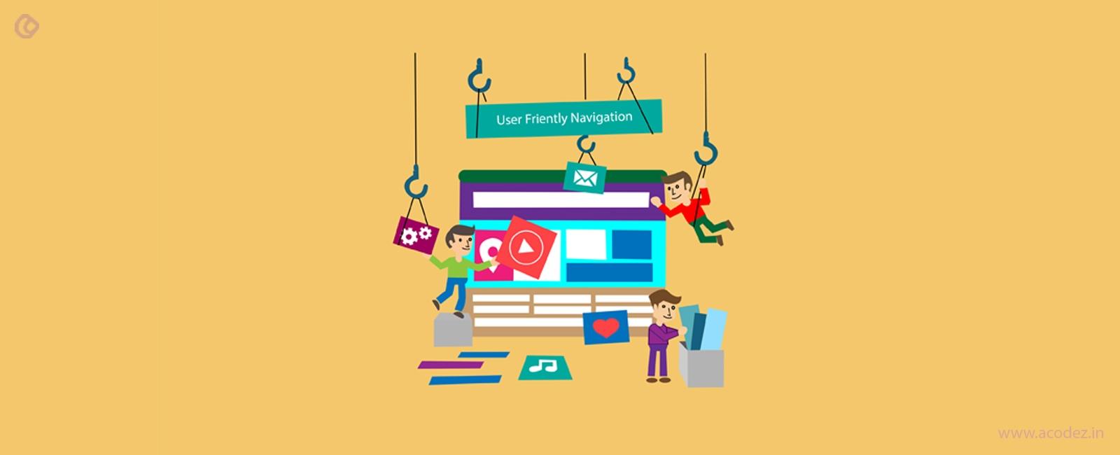 Website Navigation Design Best Practices Web Navigation Trends
