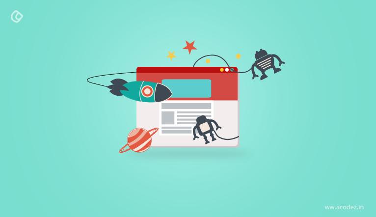 Animation in website design