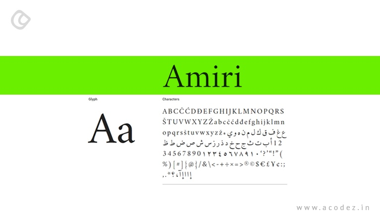24 Best Google Web Fonts for Website Designers | Fonts for Web and