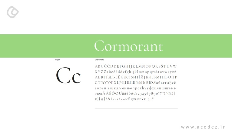 24 Best Google Web Fonts for Website Designers | Fonts for