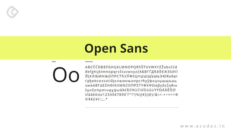 open_sans