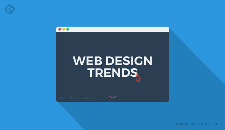 Latest web design trends