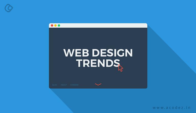 Latest web design trends