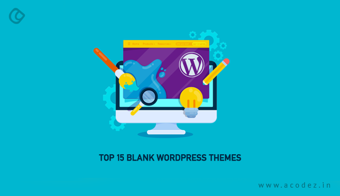 Blank WordPress Themes