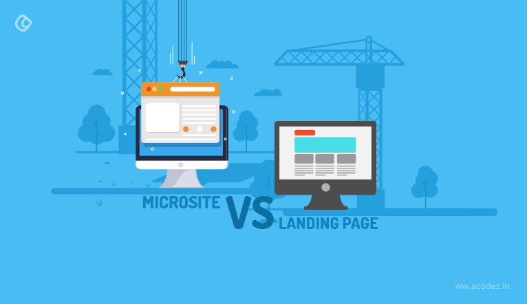 Microsites vs Landing Pages