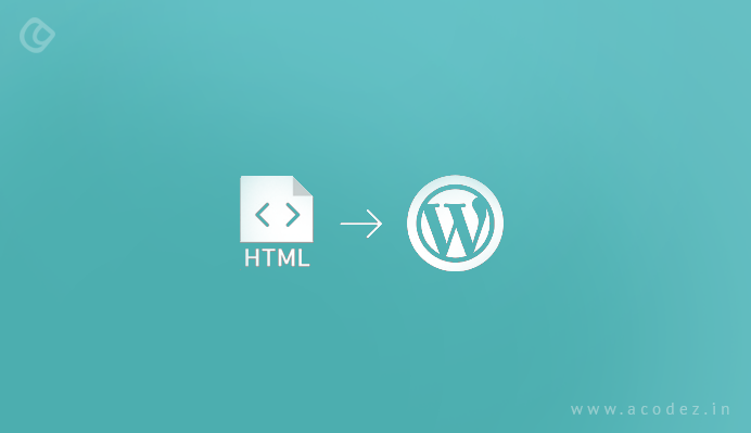Breaking down the index.html into a WordPress themed file structure