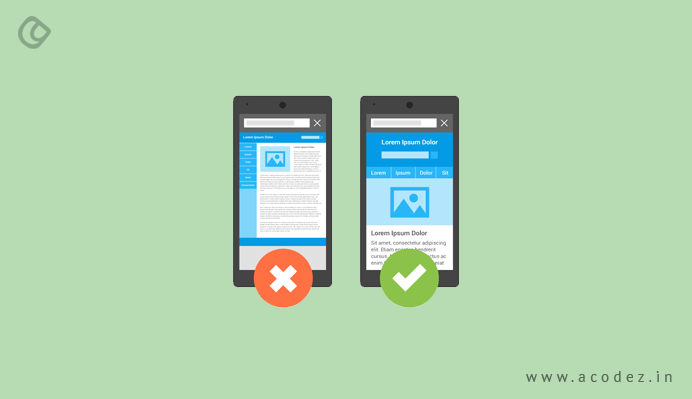Responsive designs and mobile first