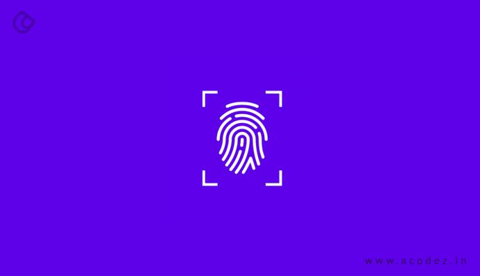 Fingerprint integration with SDK and API