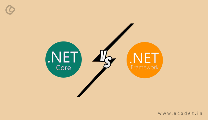 net core vs net framework