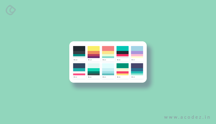 color palette web design