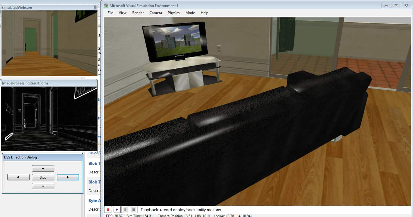 Visual Simulation Environment