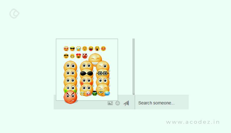 Emojis displayed