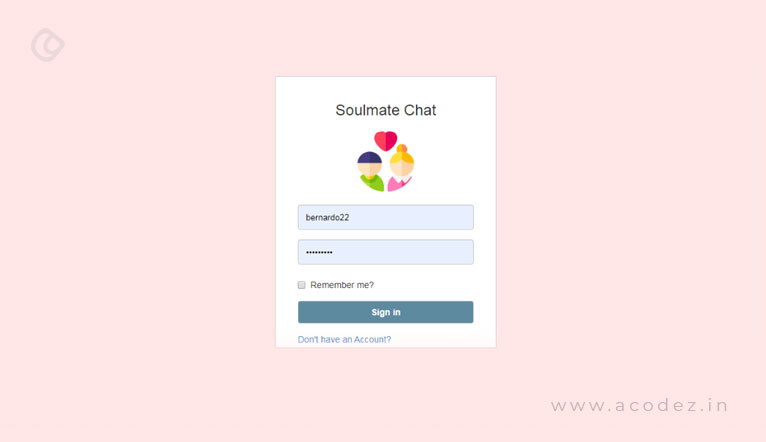 SoulMate Chat Project