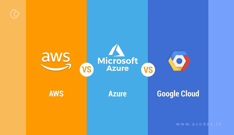 AWS vs Azure vs Google Cloud - A Detailed Comparison