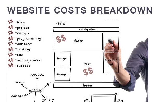 website-cost-breakup