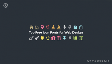 Top Free Icon Fonts for Web Design